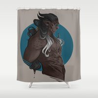 Xaman Shower Curtain