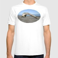Drift Arch Mens Fitted Tee White SMALL