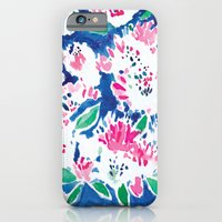iPhone & iPod Case featuring Ghost Flower by Barbarian | Barbra Ignatiev