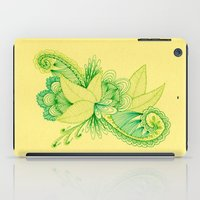 Green Arabesque iPad Case