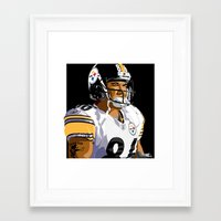 Mighty Mouse Framed Art Print