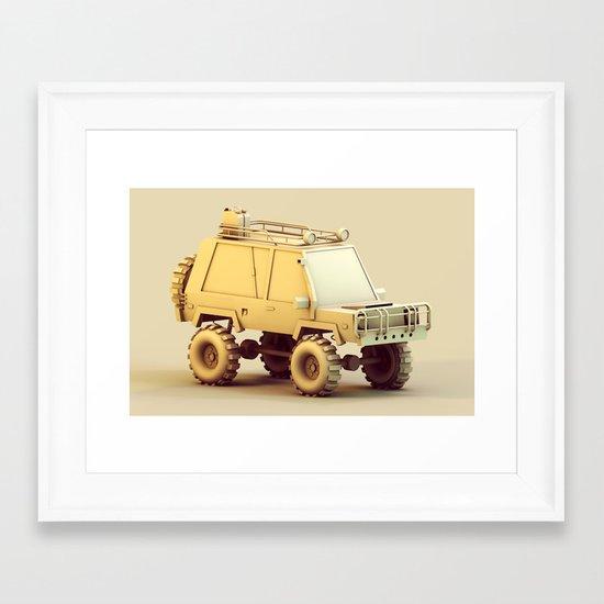 SUV Framed Art Print