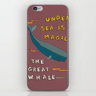 The Great Whale iPhone & iPod Skin