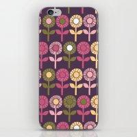 Lino Cut Flower iPhone & iPod Skin