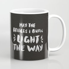Burned Bridges – Black & White Mug