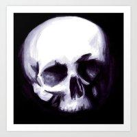 Bones I Art Print