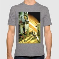 La taverna... Mens Fitted Tee Tri-Grey SMALL