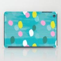 Spotty Green iPad Case