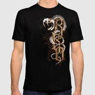 RKO Snake Bone IPhone 4 … Mens Fitted Tee Black SMALL