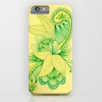 Green Arabesque iPhone 6 Slim Case