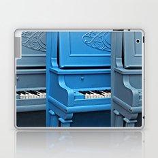 Piano Blues Laptop & iPad Skin