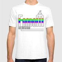 FANDOM Mens Fitted Tee White SMALL