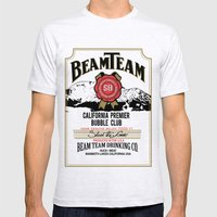 Beam Team Mens Fitted Tee Ash Grey SMALL