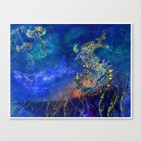 Sea Dragon. Canvas Print
