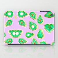 Avocado print iPad Case