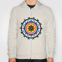 Bold and bright beauty of suzani patterns ver.9 Hoody
