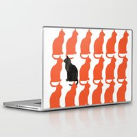 dog Laptop & iPad Skins featuring CATTERN SERIES 2 by Catspaws