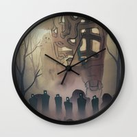 The Herd Wall Clock