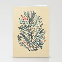 Turning Over A New Leaf Stationery Cards