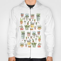 Potted Succulents Hoody