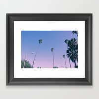 ..And then I moved to Los Angeles Framed Art Print