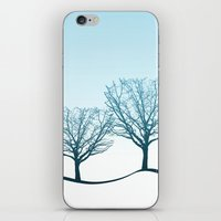Twin Trees iPhone & iPod Skin