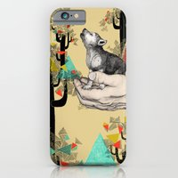 wolf iPhone & iPod Cases featuring Found You There  by Sandra Dieckmann
