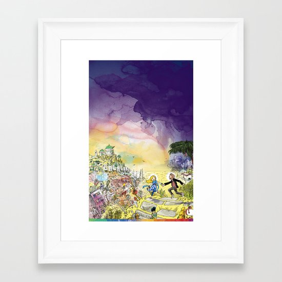 LaLaLand Framed Art Print