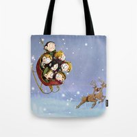 Little Hiddles Christmas… Tote Bag