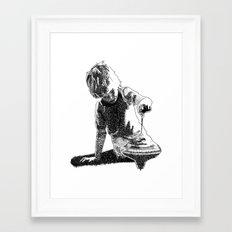 Rippling Framed Art Print