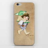 Not a backpack iPhone & iPod Skin