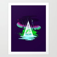 Northern Air Art Print