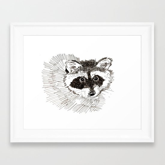 Bandito Framed Art Print