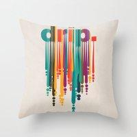 drip v2 Throw Pillow