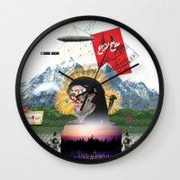 Broad Horizon Wall Clock