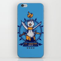 CAP. COMMANDO TEAM iPhone & iPod Skin