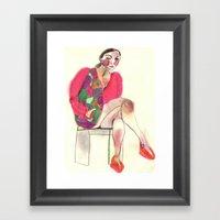 Study #27 Framed Art Print