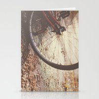 Bike Spokes  Stationery Cards