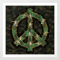 Peace Keepers Art Print