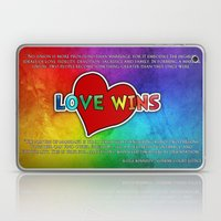 LOVE WINS Laptop & iPad Skin