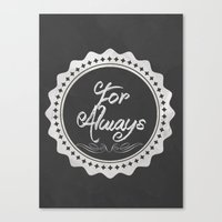 Adoption Is For Always Canvas Print