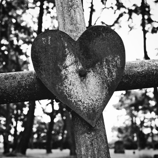 Graveyard love Art Print