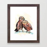 Owlies Framed Art Print
