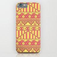 Aztec duo color pattern iPhone 6 Slim Case