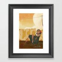 Pail Framed Art Print