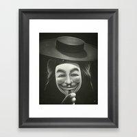 Anonymous II Framed Art Print