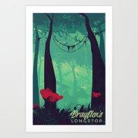 Brayflox's Longstop | FF… Art Print