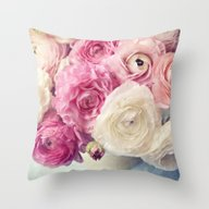 Throw Pillow featuring Shades Of Pink by Sylvia Cook Photogra…