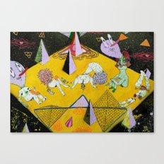 space plain Canvas Print