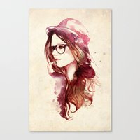 Angelica Canvas Print